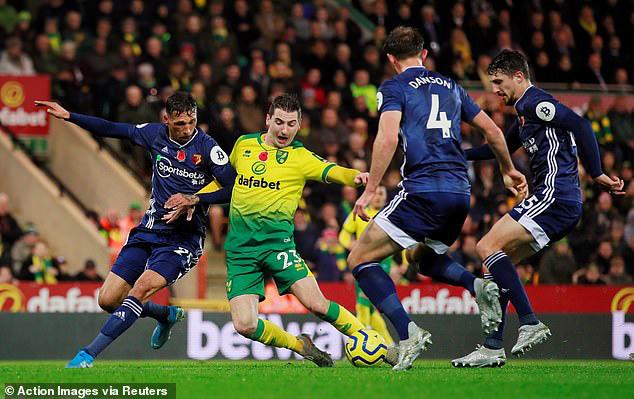 Kết quả bóng đá sáng 9/11: Norwich City 0-2 Watford, Real Sociedad 1-1 Leganes, Sassuolo 3-1 Bologna - Ảnh 1.