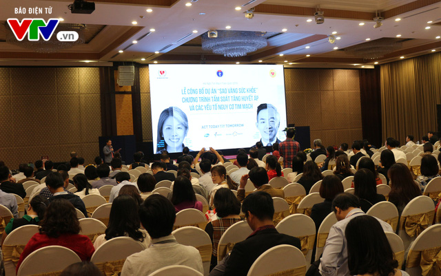 Công bố Dự ánSao Vàng Sức khỏe - vì mục tiêu kiểm soát bệnh không lây nhiễm tại Việt Nam - Ảnh 1.