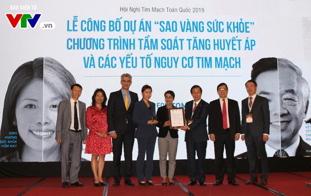 Công bố Dự ánSao Vàng Sức khỏe - vì mục tiêu kiểm soát bệnh không lây nhiễm tại Việt Nam - Ảnh 3.