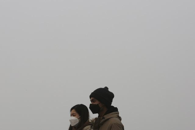 Hàn Quốc: Cảnh báo ô nhiễm bụi mịn ở mức rất tệ - Ảnh 1.