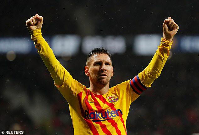 Atletico Madrid 0-1 Barcelona: Messi tỏa sáng, Barca đòi lại ngôi đầu - Ảnh 2.