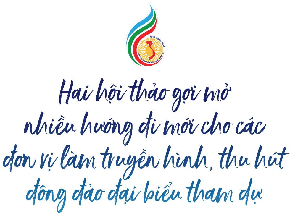 Liên hoan Truyền hình toàn quốc lần thứ 39: Ngày hội sôi động, ghi dấu mốc ý nghĩa tại thành phố biển Nha Trang - Ảnh 5.