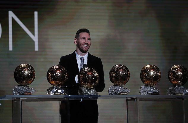 Lionel Messi lần thứ 6 giành Quả bóng vàng trong sự nghiệp - Ảnh 2.