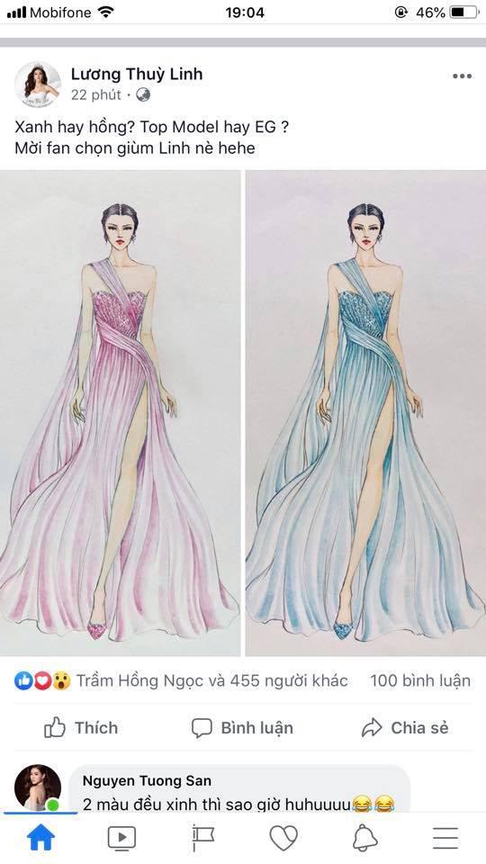 Miss World 2019: Hé lộ chiếc đầm Lương Thuỳ Linh sẽ mặc thi Top Model - Ảnh 1.
