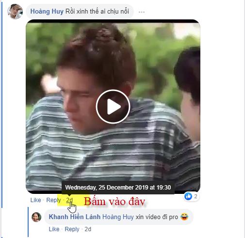 Thủ thuật tải video bình luận từ Facebook - Ảnh 1.