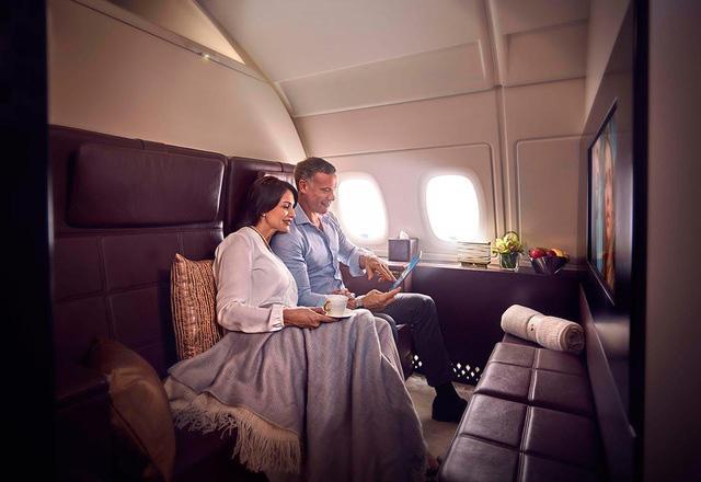 Những chuyến bay dành cho giới siêu giàu - Ảnh 1.