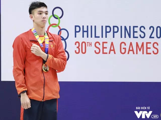 Chân dung Nguyễn Huy Hoàng: Nhà vô địch tự phá sâu kỷ lục SEA Games, đạt 2 chuẩn A Olympic - Ảnh 1.