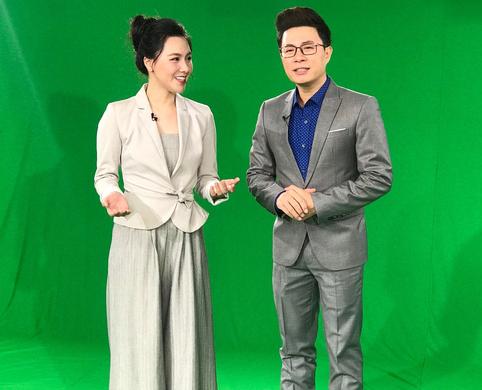 MC Lê Anh - MC Minh Hà rạng rỡ kêu gọi nhắn tin ủng hộ bệnh nhi tim bẩm sinh - Ảnh 2.