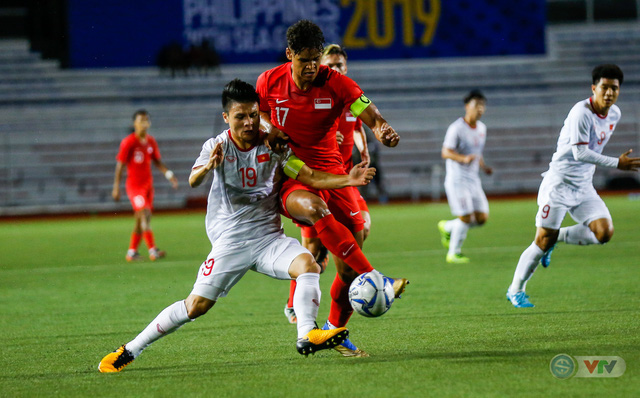 SEA Games 30: U22 Việt Nam tích cực tập luyện chuẩn bị cho trận bán kết - Ảnh 1.