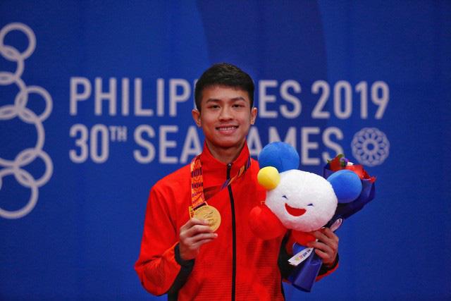 Khoảnh khắc ấn tượng trong ngày thi đấu 8/12 tại SEA Games 30: Ngày vàng của thể thao Việt Nam - Ảnh 3.