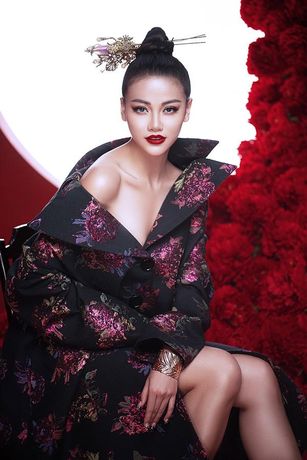 Hoa hậu Phương Khánh khoe vẻ đẹp đậm chất Á Đông trong bộ ảnh mới - Ảnh 5.