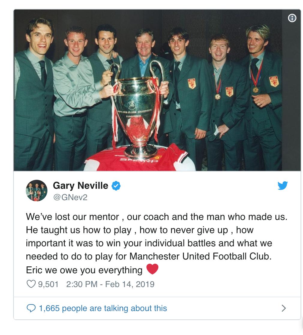 Huyền thoại ươm mầm cho thế hệ Man Utd 1992 qua đời ở tuổi 81 - Ảnh 1.