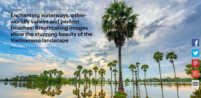 Báo Anh giới thiệu chùm ảnh tuyệt đẹp về Việt Nam - Ảnh 1.