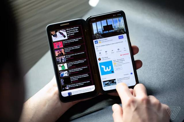 LG ra smartphone màn hình gập đối đầu Samsung và Huawei - Ảnh 1.