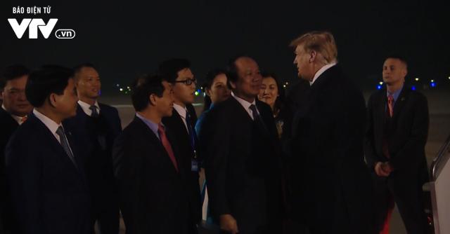 VIDEO Tổng thống Mỹ Donald Trump đến Việt Nam - Ảnh 1.