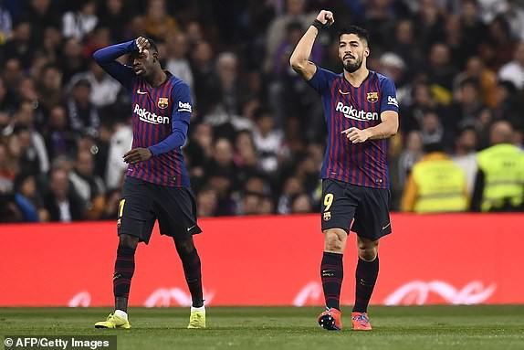 ẢNH: Real Madrid gục ngã trước Barcelona trong trận cầu Siêu kinh điển - Ảnh 13.