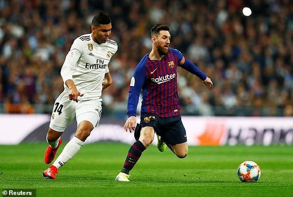 ẢNH: Real Madrid gục ngã trước Barcelona trong trận cầu Siêu kinh điển - Ảnh 2.