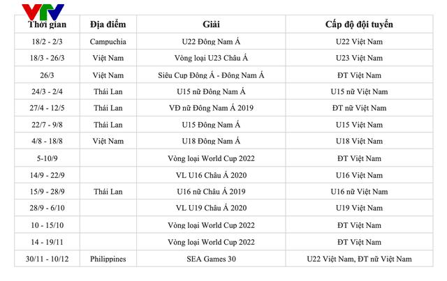 2019 - Năm bản lề quan trọng với thể thao Việt Nam - Ảnh 2.