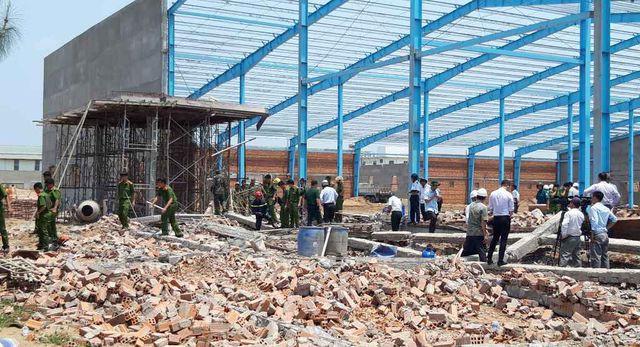 5 công nhân thiệt mạng do sập công trình xây dựng - Ảnh 1.