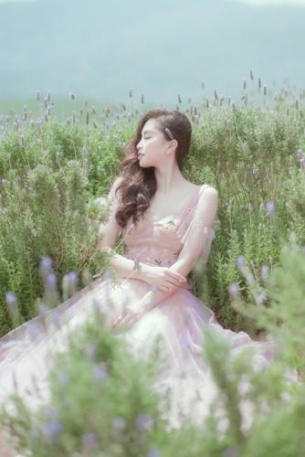 Hoa hậu Tiểu Vy khoe nhan sắc ngọt ngào sau nửa năm đăng quang - Ảnh 7.