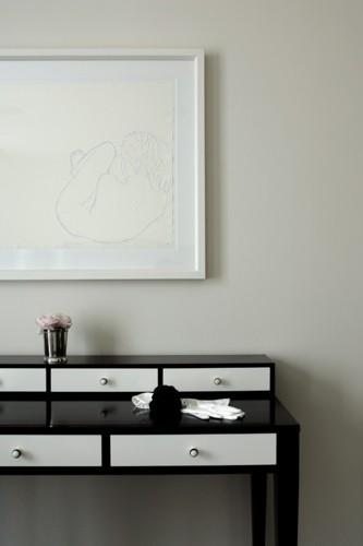 Bí kíp phối màu đen làm không gian căn nhà tươi sáng - Ảnh 2.