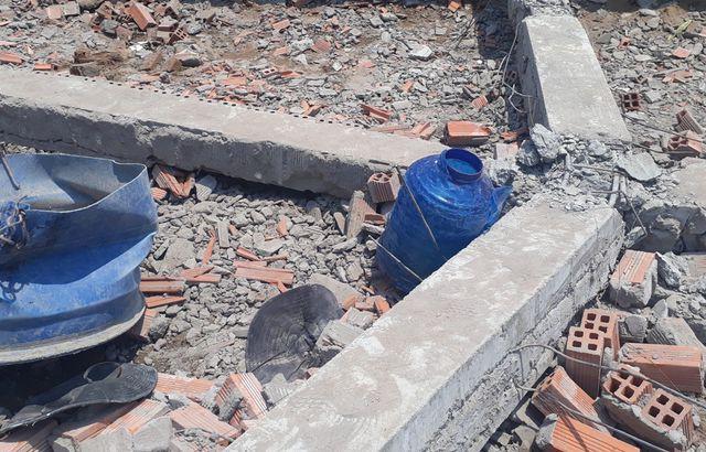 Vụ sập tường khiến 6 người chết: Dừng thi công công trình - Ảnh 1.