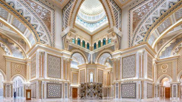 Dinh Tổng thống Abu Dhabi lần đầu tiên mở cửa cho du khách - Ảnh 1.