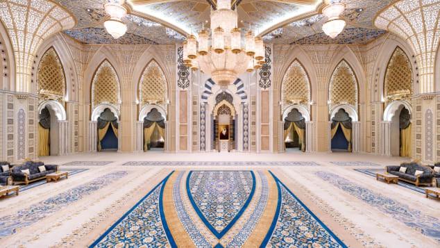 Dinh Tổng thống Abu Dhabi lần đầu tiên mở cửa cho du khách - Ảnh 2.