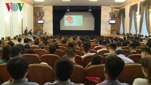 Kỷ niệm 88 năm ngày thành lập Đoàn TNCS Hồ Chí Minh tại Liên bang Nga - Ảnh 1.