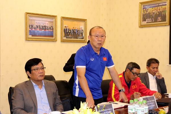 Bộ trưởng Nguyễn Ngọc Thiện: Bóng đá Việt Nam 2019 có 3 mục tiêu lớn cần giành thắng lợi - Ảnh 2.