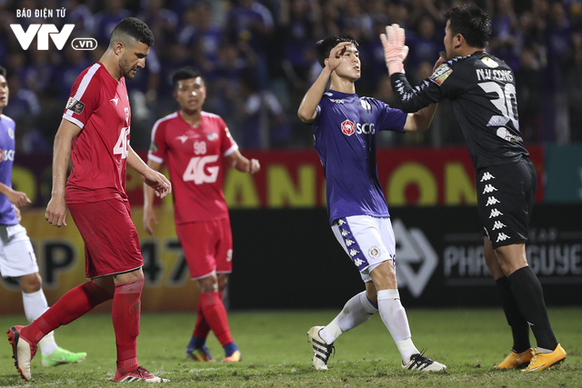 Thắng derby Thủ đô, bầu Hiển thưởng nóng CLB Hà Nội 300 triệu đồng - Ảnh 1.
