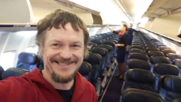 Chuyến bay đặc biệt chỉ có... một hành khách - Ảnh 1.