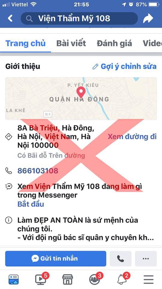 Bệnh viện Trung ương Quân đội 108 cảnh báo tình trạng mạo danh trên mạng xã hội - Ảnh 3.