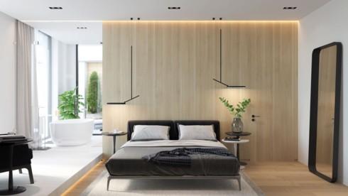 Mẫu phòng ngủ sang trọng khiến bạn không nỡ rời bước - Ảnh 1.