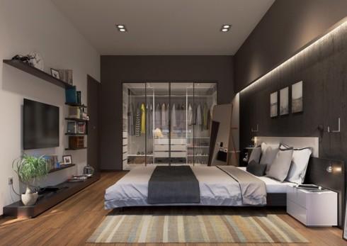 Mẫu phòng ngủ sang trọng khiến bạn không nỡ rời bước - Ảnh 9.