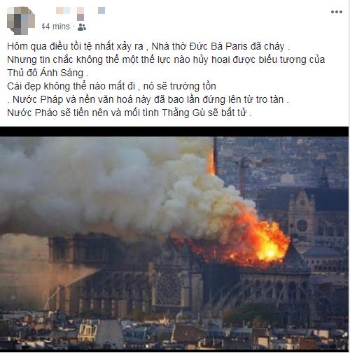 Cả thế giới xót xa khi trái tim của Paris bùng cháy - Ảnh 4.