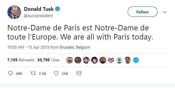 Cả thế giới xót xa khi trái tim của Paris bùng cháy - Ảnh 2.