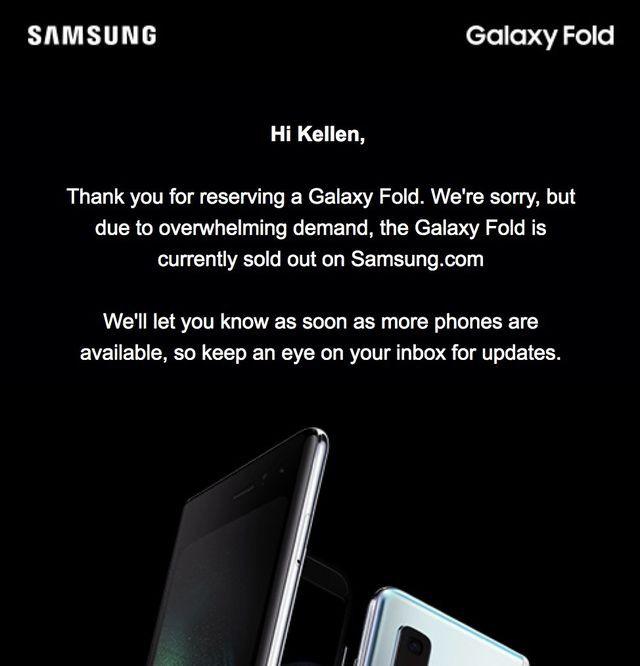"""Giá bán đắt đỏ, Galaxy Fold vẫn """"cháy hàng"""" chỉ trong 1 ngày - ảnh 2"""