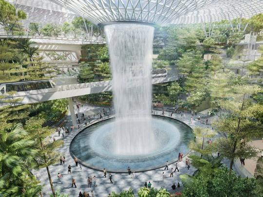 Singapore vận hành tổ hợp giải trí sân bay - Ảnh 1.