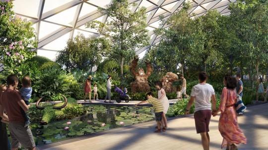 Singapore vận hành tổ hợp giải trí sân bay - Ảnh 2.