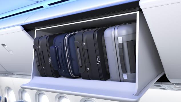 Mô hình cung cấp những hình ảnh đầu tiên bên trong chiếc Boeing 777X mới - Ảnh 2.