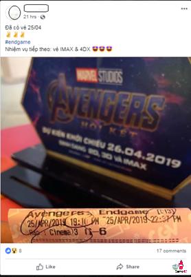 Avengers: Hồi kết đập tan mọi kỷ lục vé bán trước tại Việt Nam trong chưa đầy 24 giờ - Ảnh 1.