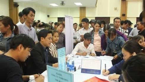 Hàng ngàn bạn trẻ tham dự ngày hội việc làm sinh viên ở Đà Nẵng - ảnh 2