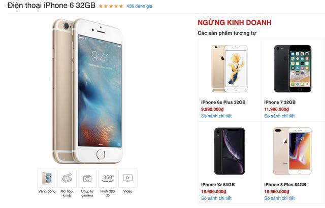 Sau 5 năm, iPhone 6 chính thức khai tử tại Việt Nam - Ảnh 1.