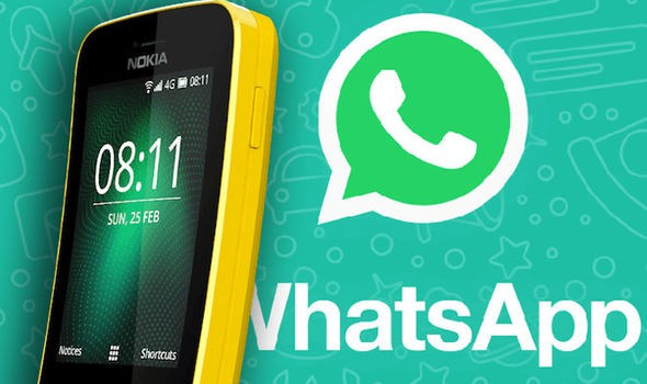 WhatsApp chính thức có mặt trên quả chuối Nokia 8110 - Ảnh 1.