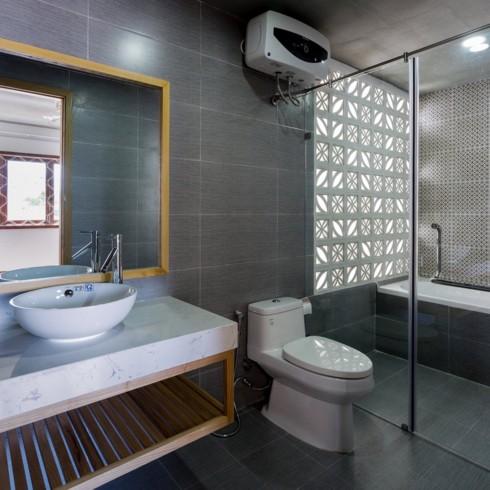 Ngôi nhà hiện đại mang phong cách nhiệt đới - Ảnh 8.