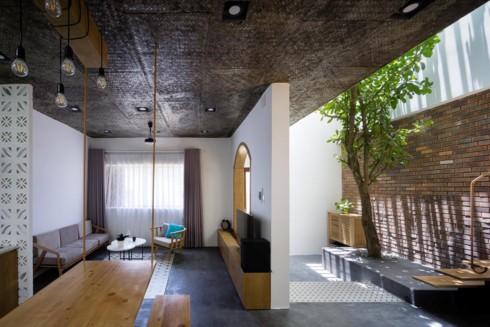 Ngôi nhà hiện đại mang phong cách nhiệt đới - Ảnh 2.