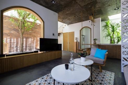 Ngôi nhà hiện đại mang phong cách nhiệt đới - Ảnh 3.