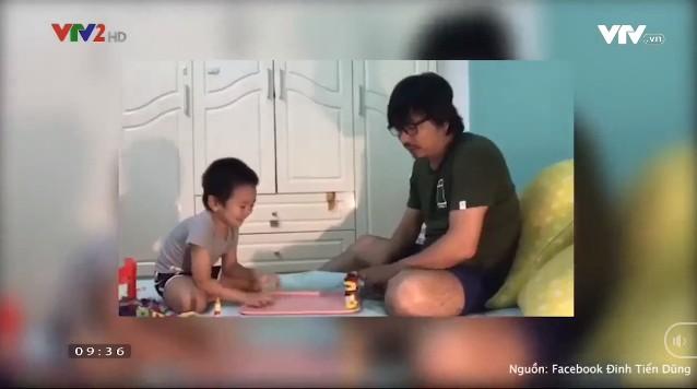 Những ông bố đảm đang của showbiz Việt - Ảnh 3.