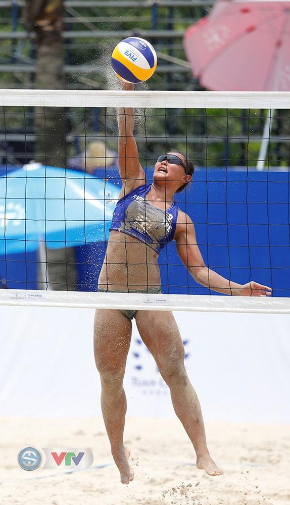 Ảnh: Những khoảnh khắc ấn tượng tại giải bóng chuyền bãi biển nữ thế giới Tuần Châu - Hạ Long 2019 ngày 11/5 - Ảnh 13.